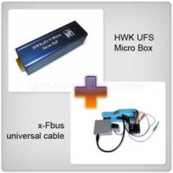 HWK Ufs Box With x-Fbus universal cable