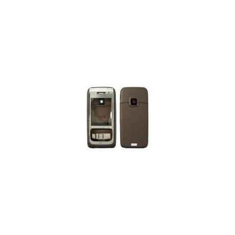 Корпус для Nokia E65, коричневый, копия ААА