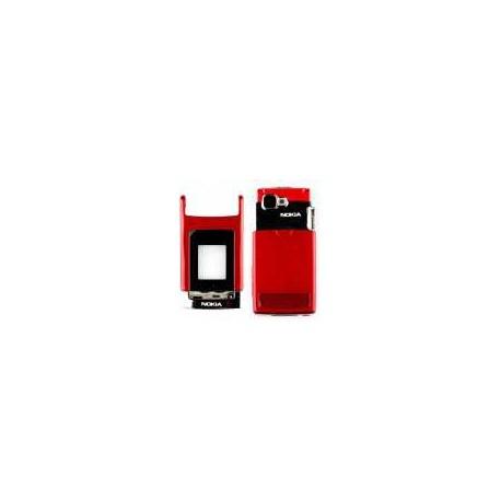 Корпус для Nokia N76, красный, копия ААА