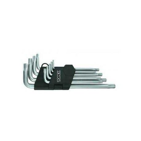Topex 35D961 набор длинных звездообразных шестигранных ключей