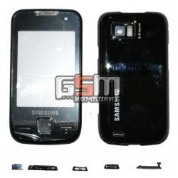 Корпус для Samsung S5600, черный, high-copy