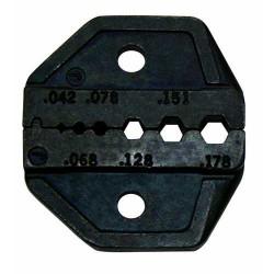 Матрица Pro'sKit CP-336DG для кримпера CP-372N (разъемы RG 58,59,62,174 оптоволокно)