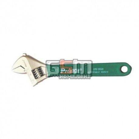 Разводной ключ Pro'sKit HW-010, просвет губок до 30 мм, 250 мм