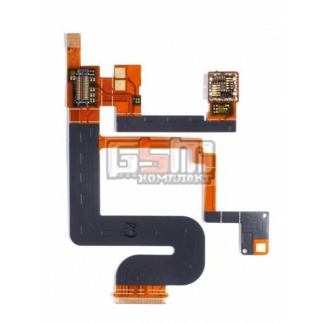 Шлейф для Sony Ericsson C702, камеры, динамика, звонка, с компонентами