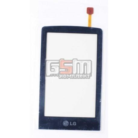Тачскрин для LG KS660, синий