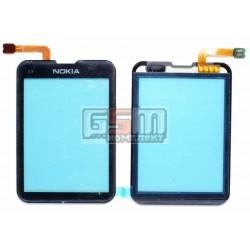 Тачскрин для Nokia C3-01, черный, оригинал, #4870189