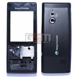 Корпус для Sony Ericsson J10i2 Elm, черный, копия ААА
