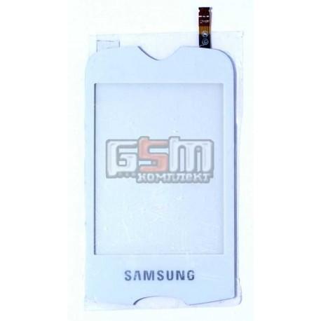 Тачскрин для Samsung S3370, белый