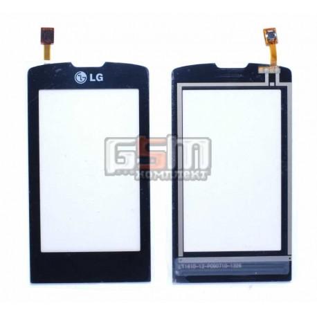 Тачскрин для LG GW520, черный