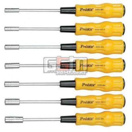 Proskit 1PK-9402 Набор отверток с торцевыми головками для электроники