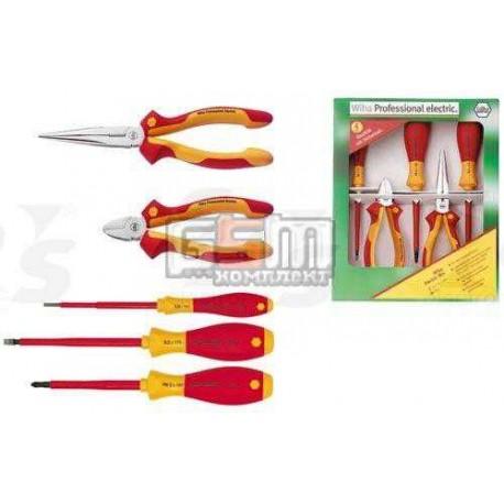 Wiha Z 99000206 набор плоскогубцев и отверток для квалифицированных электриков