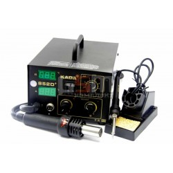 Термоповітряна паяльна станція KADA 852D+ з паяльником