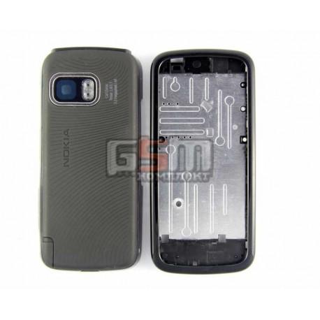Корпус для Nokia 5800, черный, копия ААА