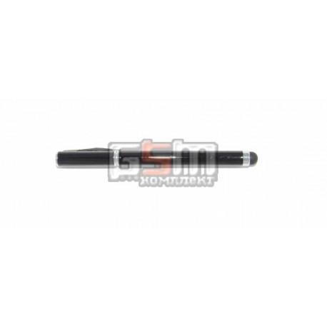 Ручка-стилус ёмкостный универсальный черный