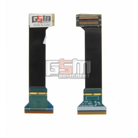 Шлейф для Samsung C3110, межплатный, с компонентами