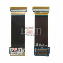 Шлейф для Samsung C3310, межплатный, с компонентами