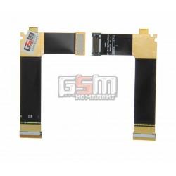 Шлейф для Samsung C6112, межплатный, с компонентами