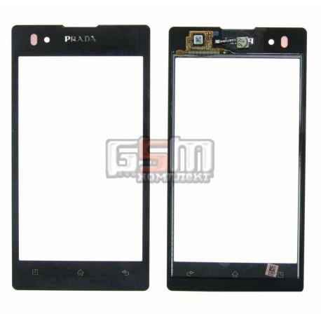 Тачскрин для LG P940 Prada, черный