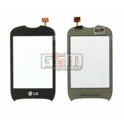 Тачскрин для LG T310, черный