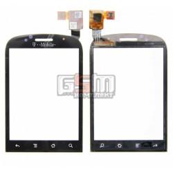Тачскрин для Huawei U8150, черный, #CT0065FPC-A2-E/CT0051-FPC-A3-E