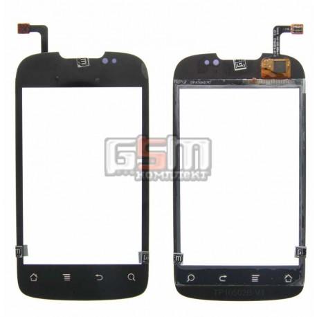 Тачскрин для Huawei U8650, U8660; Kyivstar Aqua; MTC 955, черный, #TM1808 940-1135-02Rev1.1/TP10497A-V2