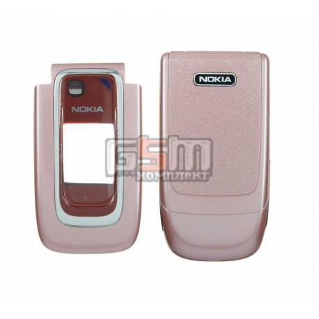 Корпус для Nokia 6131, копия AAA, розовый