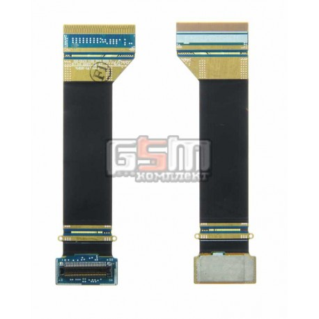 Шлейф для Samsung F110, межплатный, с компонентами