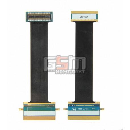 Шлейф для Samsung F400, оригинал, межплатный, с компонентами, (GH41-02096A)