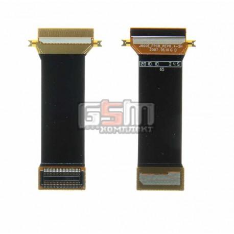 Шлейф для Samsung J600, J600E, оригинал, межплатный, с компонентами, (GH97-07767A)