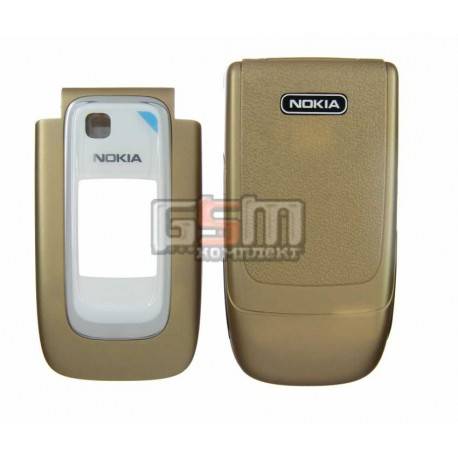 Корпус для Nokia 6131, золотистый, копия ААА