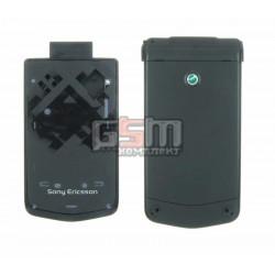 Корпус для Sony Ericsson Z555, черный, high-copy