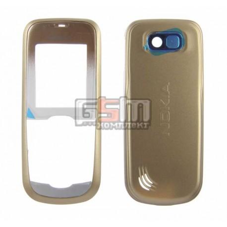 Корпус для Nokia 2600c, золотистый, копия ААА