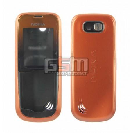 Корпус для Nokia 2600c, оранжевый, копия ААА