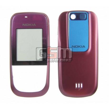 Корпус для Nokia 2680s, красный, high-copy