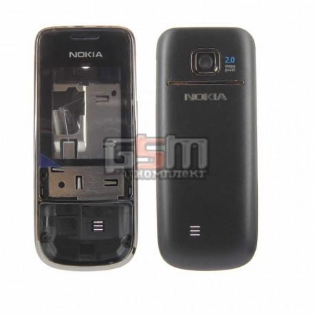 Корпус для Nokia 2700c, черный, high-copy