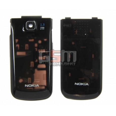 Корпус для Nokia 2720f, копия AAA, черный