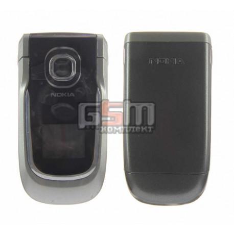 Корпус для Nokia 2760, черный, копия ААА, с клавиатурой