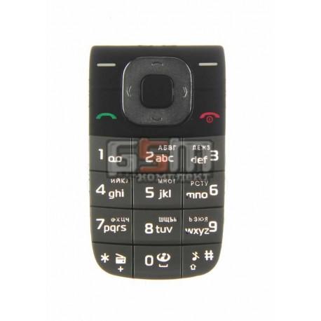 Клавиатура для Nokia 2760, черная, русская