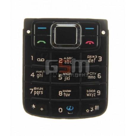Клавиатура для Nokia 3110c, черная, русская