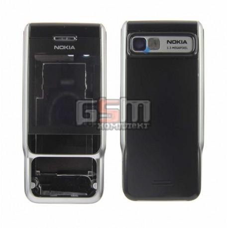 Корпус для Nokia 3230, черный, копия ААА