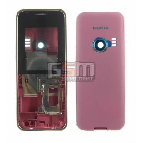 Корпус для Nokia 3500c, красный, high-copy