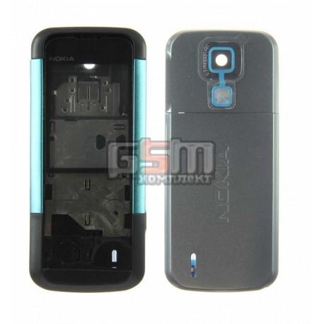 Корпус для Nokia 5000, голубой, копия ААА
