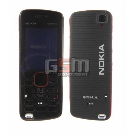 Корпус для Nokia 5220, копия AAA, красный