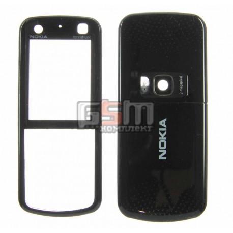 Корпус для Nokia 5320, черный, копия ААА