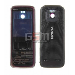 Корпус для Nokia 5630, копия AAA, красный