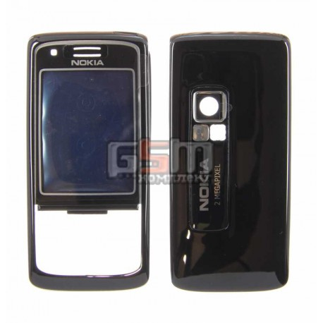 Корпус для Nokia 6288, черный, копия ААА