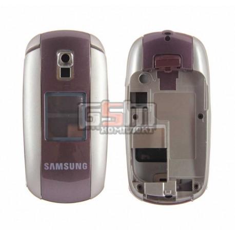 Корпус для Samsung E530, копия AAA, бордовый