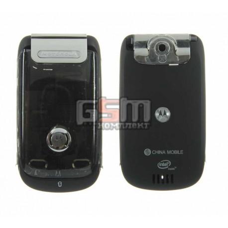 Корпус для Motorola A1200e, черный, high-copy