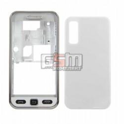 Корпус для Samsung S5230 Star, белый, high-copy