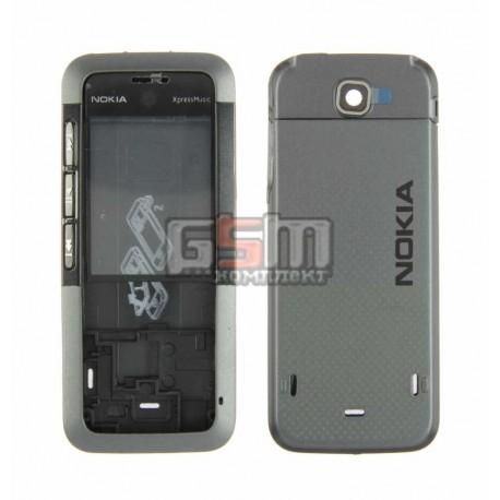Корпус для Nokia 5310, черный, копия ААА